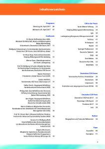 Inhaltsverzeichnis. Programm Dienstag, 04. April Mittwoch, 05. April