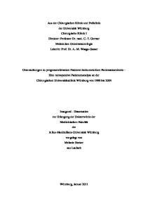 Inhaltsverzeichnis. Referent: Priv.-Doz. Dr. med. M. Gasser Koreferent: Prof. Dr. med. M. Scheurlen Dekan: Prof. Dr. med. M