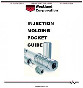 INJECTION MOLDING POCKET GUIDE