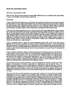 Injurias. Buenos Aires, 12 de noviembre de 1996