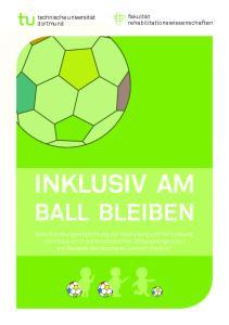 INKLUSIV AM BALL BLEIBEN