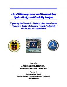 Inland Waterways Intermodal Transportation System Design and Feasibility Analysis