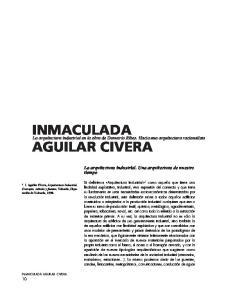 INMACULADA AGUILAR CIVERA. La arquitectura industrial en la obra de Demetrio Ribes. Hacia una arquitectura racionalista