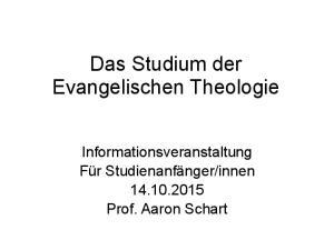 innen Prof. Aaron Schart