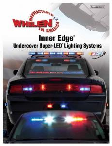 Inner Edge Undercover Super-LED Lighting Systems