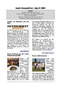 InnoC-Newsletter, April 2007