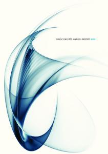 INNOCONCEPTS ANNUAL REPORT 2009