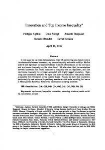 Innovation and Top Income Inequality
