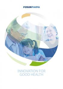 INNOVATION FOR GOOD HEALTH