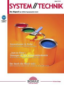 Innovationen in Farbe SCHULZ Systemtechnik auf der European Coatings Show