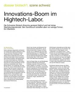 Innovations-Boom im Hightech-Labor