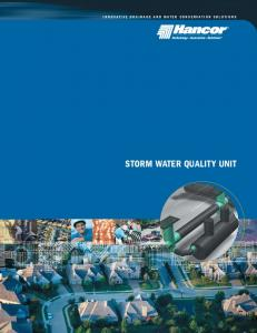INNOVATIVE DRAINAGE AND WATER CONSERVATION SOLUTIONS