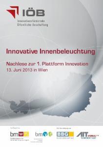 Innovative Innenbeleuchtung