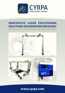 INNOVATIVE LASER POSITIONING SOLUTIONS IN RADIATION ONCOLOGY
