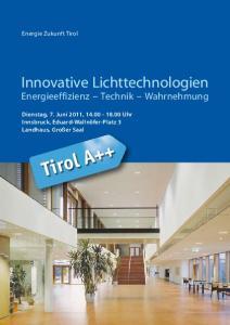 Innovative Lichttechnologien
