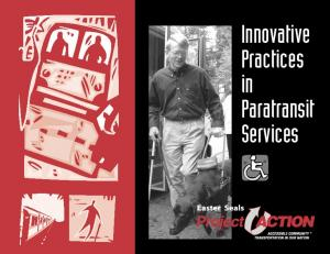 Innovative Practices in Paratransit Services