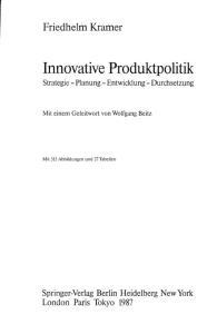 Innovative Produktpolitik