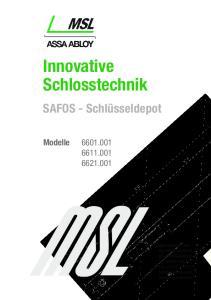 Innovative Schlosstechnik