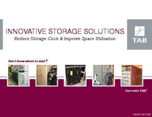 Innovative Storage Solutions