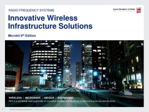 Innovative Wireless Infrastructure Solutions