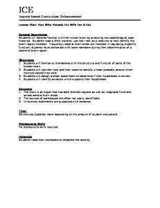 Inquiry-based Curriculum Enhancement