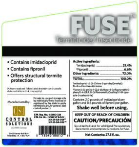 Insecticide. Manufactured by: See attached label for additional Precautionary Statements and complete Directions for Use