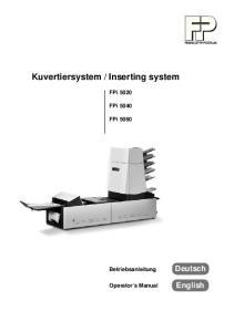 Inserting system
