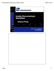 Inside Documentum Workflow