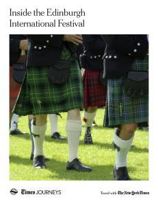 Inside the Edinburgh International Festival