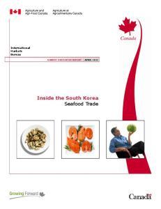 Inside the South Korea Seafood Trade