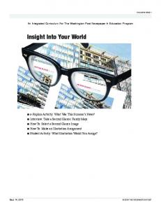 Insight Into Your World