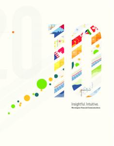 Insightful. Intuitive. Morningstar Financial Communications