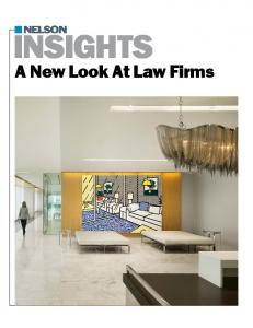 INSIGHTS. A New Look At Law Firms