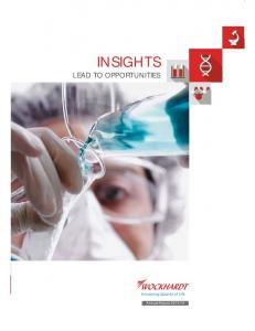 INSIGHTS LEAD TO OPPORTUNITIES. Annual Report