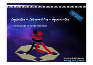 Inspiration Interpretation - Improvisation
