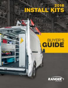 INSTALL KITS BUYER S GUIDE