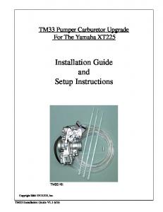 Installation Guide and Setup Instructions