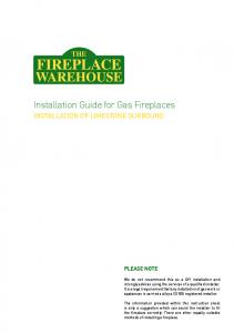Installation Guide for Gas Fireplaces