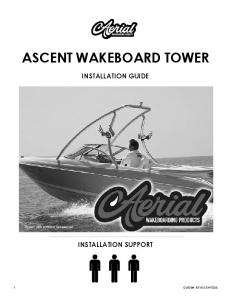 installation guide GUIDE#: BT-ascent-005