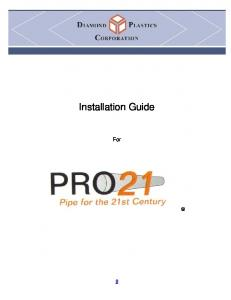 Installation Guide. Installation Guide. For