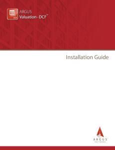 Installation Guide TM