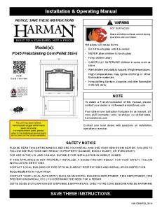 Installation & Operating Manual