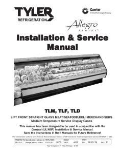 Installation & Service Manual