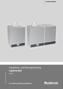 Installations- und Wartungsanleitung Logamax plus