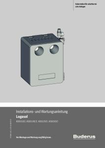 Installations- und Wartungsanleitung Logasol