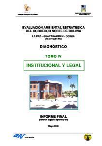 INSTITUCIONAL Y LEGAL