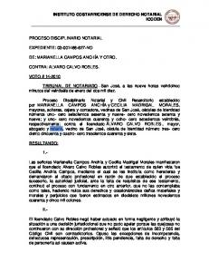 INSTITUTO COSTARRICENSE DE DERECHO NOTARIAL ICODEN