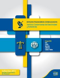 Instituto Costarricense de Electricidad y Subsidiarias