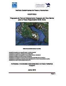 Instituto Costarricense de Pesca y Acuicultura INCOPESCA
