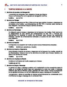 INSTITUTO COSTARRICENSE DE PUERTOS DEL PACIFICO